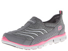 SKECHERS - Staycation (Gray/Hot Pink) - Footwear