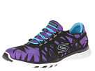 SKECHERS - Riotous (Black/Purple) - Footwear