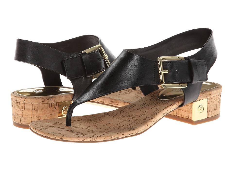 MICHAEL Michael Kors London Thong (Black) Women's Sandals