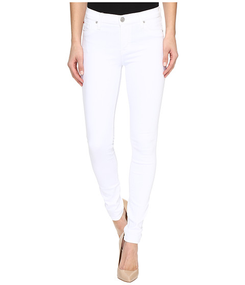 Hudson Nico Mid-Rise Super Skinny in White