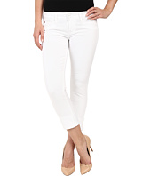 Hudson - Ginny Straight Crop w/ Cuff in White