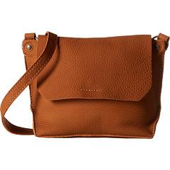 ECCO Eyota Crossbody (Amber) Cross Body Handbags