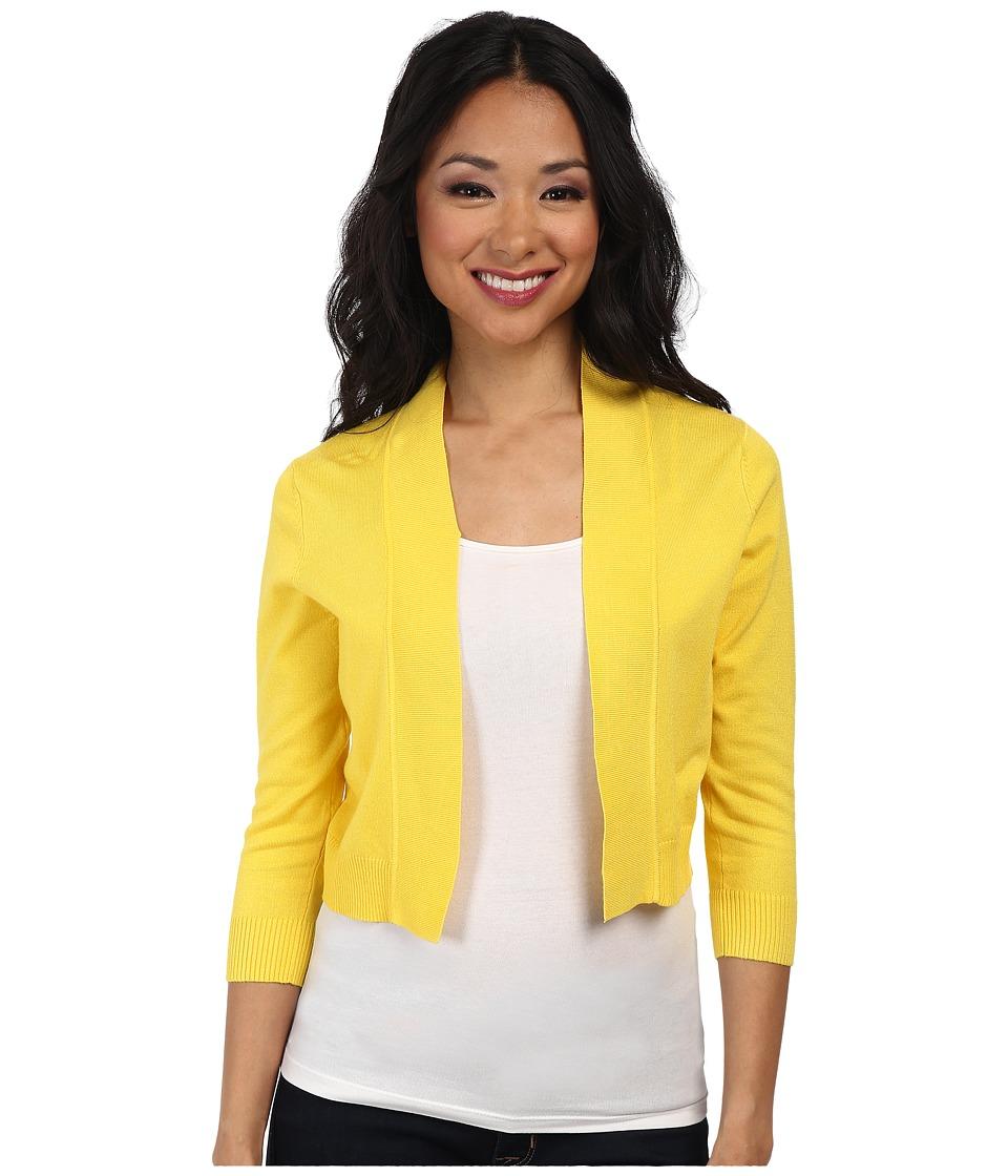 rsvp Bre Shrug Yellow Womens Sweater