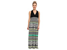 rsvp - Kyra Maxi Dress (Black/Green)