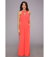 Vince Camuto - V-Neck Sleeveless Jumpsuit w/ Rhinestone Placet