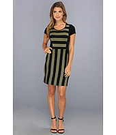 kensie - Fitted Striped Dress