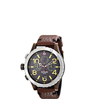 Nixon - The 48-20 Chrono Leather - The Brass Tacks Collection