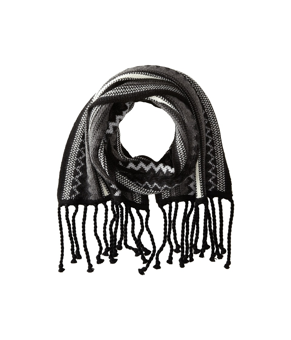 Smartwool - Pine Lake Chevron Scarf (Charcoal Heather) Scarves