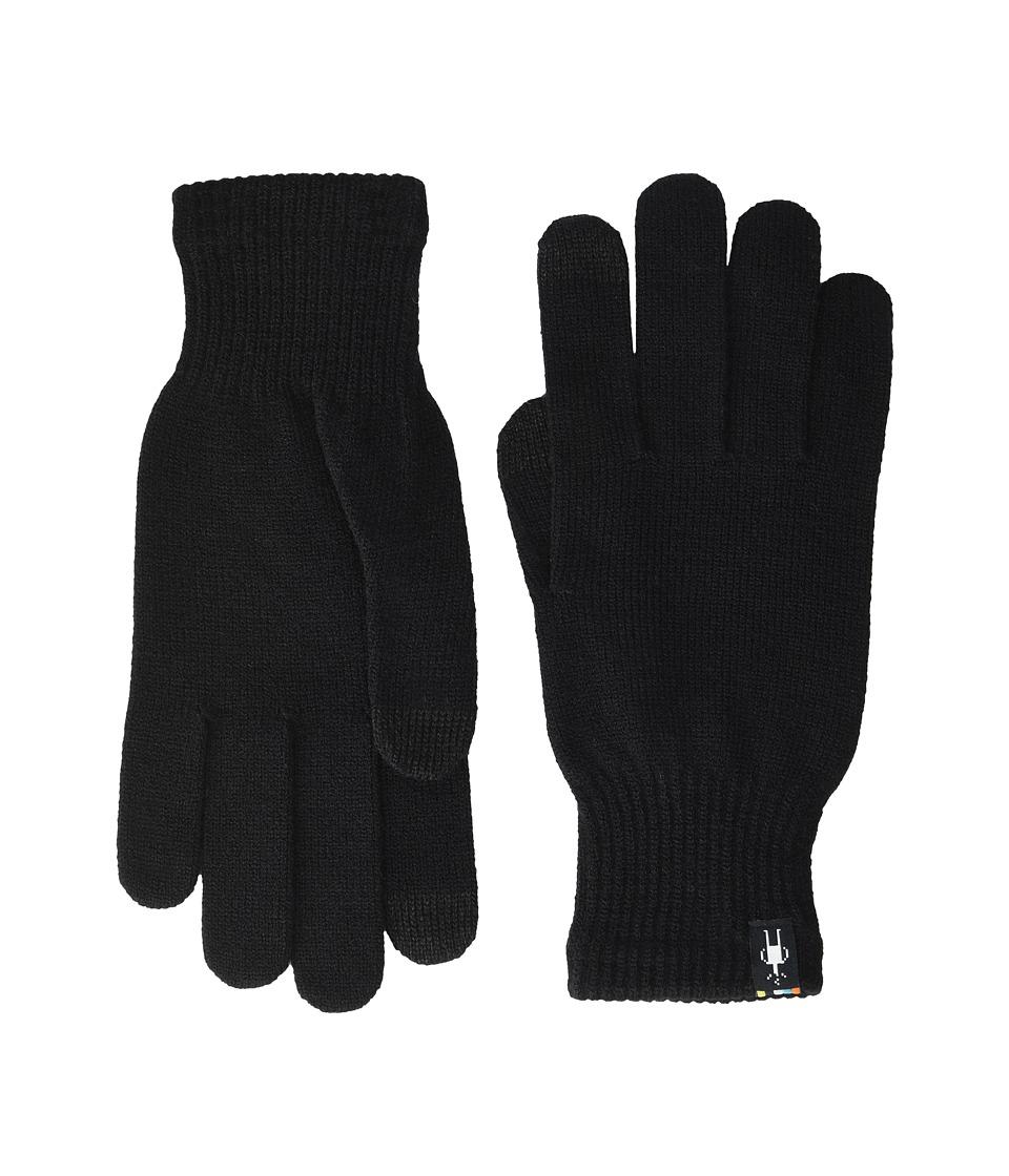 Smartwool Liner Glove (Black) Liner Gloves