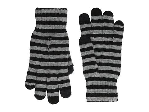 Smartwool Striped Liner Glove - Black