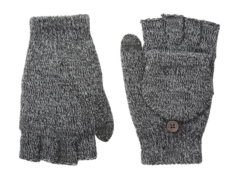 Smartwool Cozy Flip Mitt (Black) Over-Mits Gloves