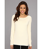 Calvin Klein - Honeycomb & Ribbed Texture Sweater