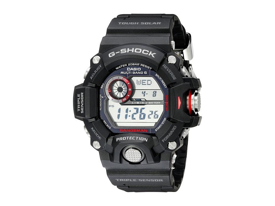 G Shock Rangeman GW 9400 Black Watches