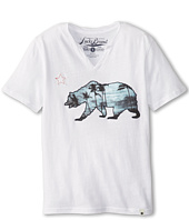 Lucky Brand Kids - Sunset Bear Tee (Big Kids)