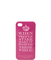 My Flat In London - When People State Iphone Case