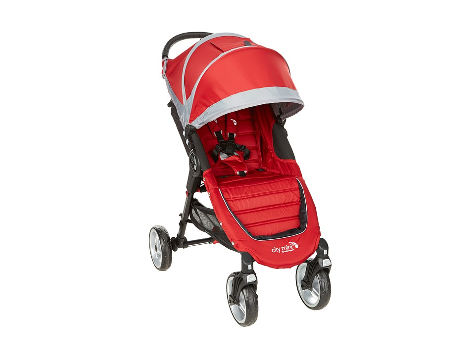 Baby Jogger 4 Wheel City Mini Crimson/Gray Strollers Travel