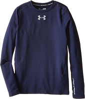 Under Armour Kids - ColdGear® Evo Fitted L/S Crew (Big Kids)