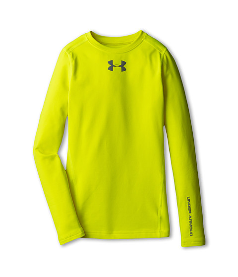 Under Armour Kids ColdGear® Evo Fitted L/S Crew (Big Kids)