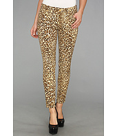 7 For All Mankind - The Crop Skinny in Cheetah Print