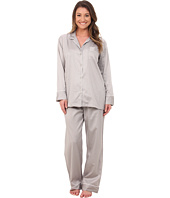 Natori - Cotton Sateen Notch PJ