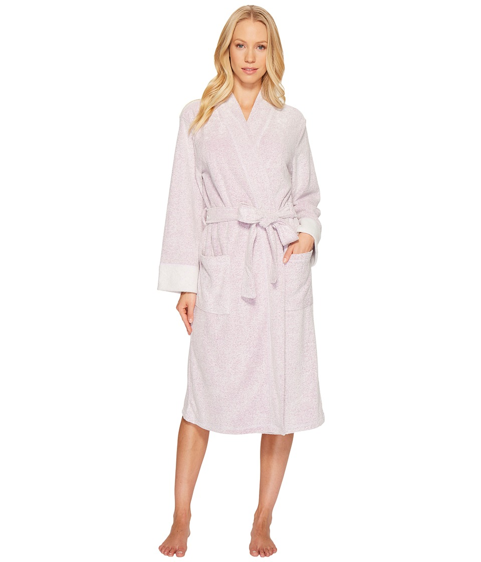 N by Natori - N Natori Brushed Terry Nirvana Robe (Royal Purple) Womens Robe