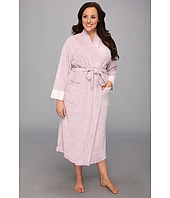 Natori - Plus Size N Natori Brushed Terry Nirvana Robe