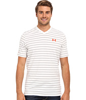 Under Armour - Charged Cotton® Pinstripe V-Neck Tee