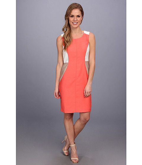 Sale alerts for Anne Klein Tricolor Island Stretch Sheath Dress - Covvet