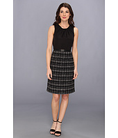 Jones New York - Sleeveless Dress w/ Luster Bodice