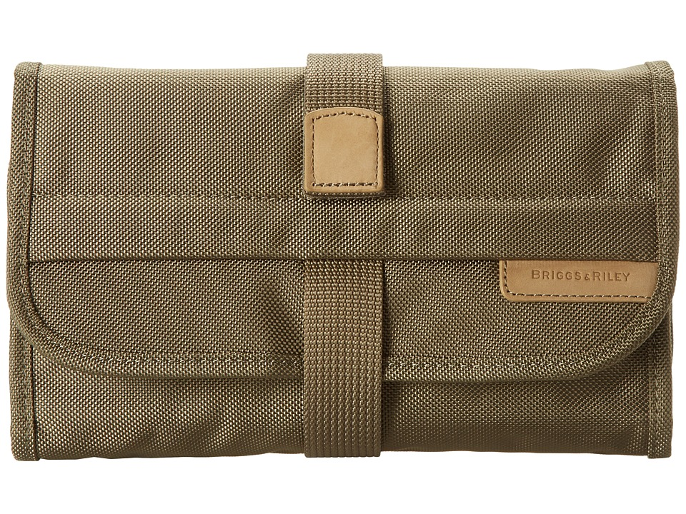 Briggs amp Riley Baseline Compact Toiletry Kit Olive Toiletries Case