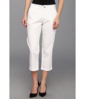 Jag Jeans Petite - Petite Cora Slim Crop in White