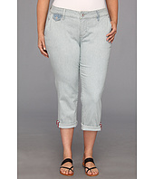 Jag Jeans Plus Size - Plus Size Jude Crop in Faded Indigo