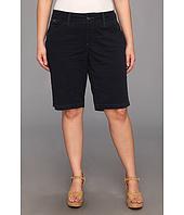 Jag Jeans Plus Size - Plus Size Lulu Classic Bermuda Fine Line Twill