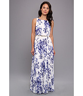 Eliza J - Sleeveless Maxi With Pleated Bodice And Skirt