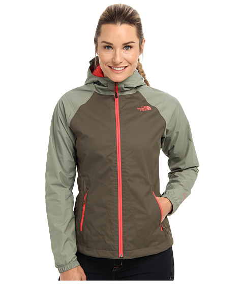The North Face - Allabout Jacket (New Taupe Green/Sea Spray Green) - Apparel