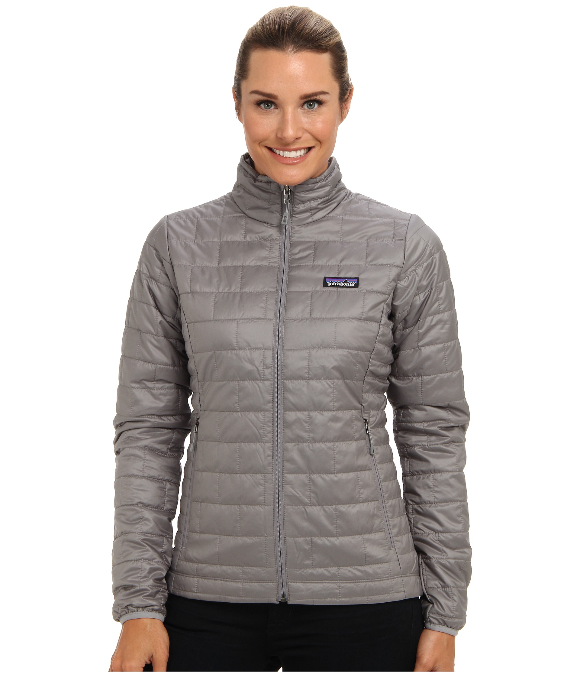 Patagonia Nano Puff 174 Jacket Feather Grey Zappos Com Free