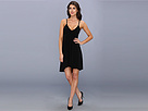 KAMALIKULTURE - High-Low Slip Flare Dress (Black) - Apparel