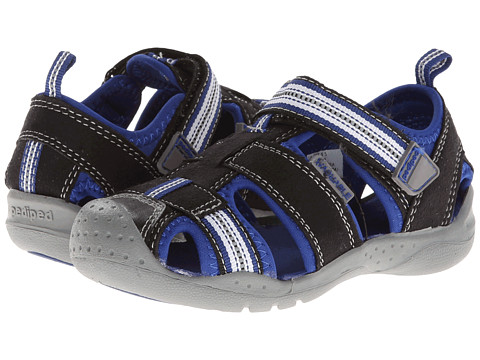 pediped Sahara Flex (Toddler/Little Kid) - Black King Blue