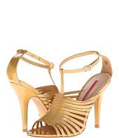 C Label - C Label Sara-8 Ankle Strap Platform Wedge Bootie from