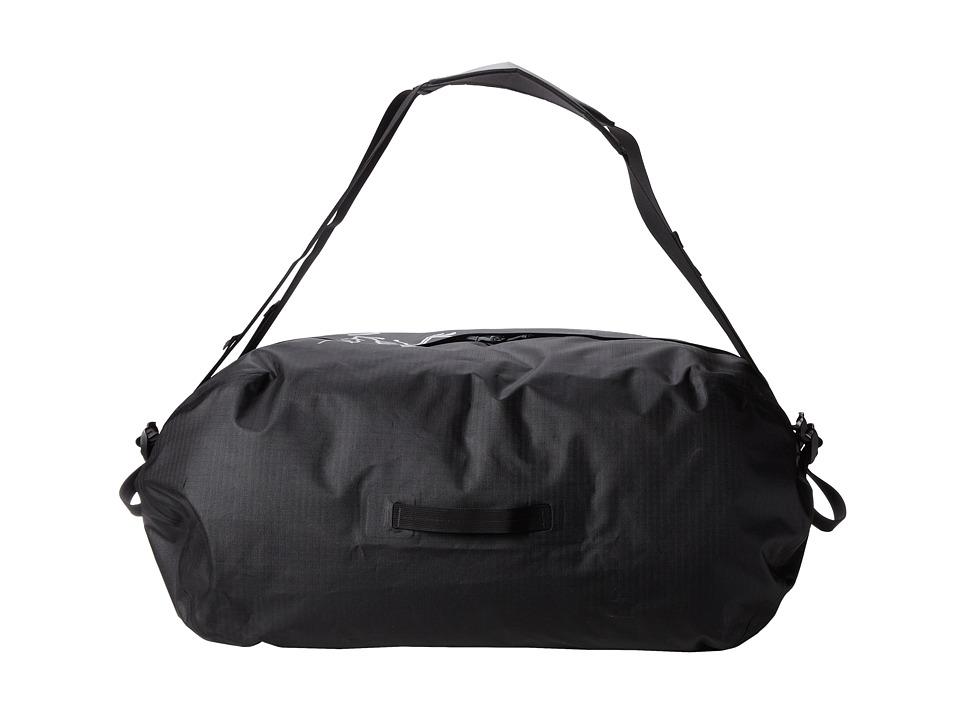 Arcteryx Carrier Duffel 100 Black Duffel Bags