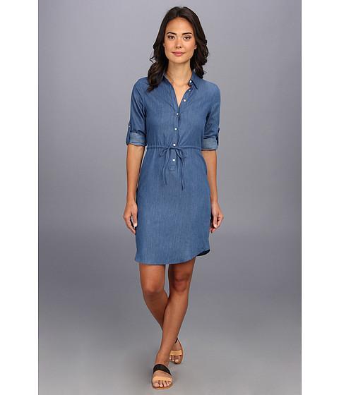 Perfect Lucky Brand Women39s Chambray Shirt Dress Ocean Medium Amazon