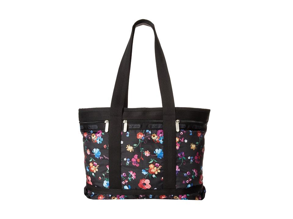 LeSportsac Luggage - Medium Travel Tote (Impressionist Flower) Tote Handbags
