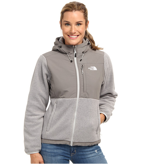 The North Face - Denali Hoodie (Recycled High Rise Grey Heather/Pache Grey) - Apparel