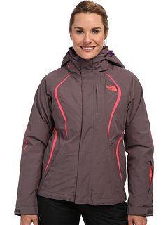 The North Face Kira 2.0 Triclimate Jacket (Sonnet Grey/Sonnet Grey/Rocket Red/Gravity Purple) Women