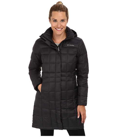 Columbia Hexbreaker™ Long Down Jacket - Black