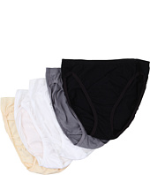 Vanity Fair - 5 Pack Cotton Stretch Hicut