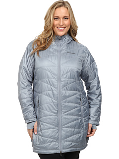 018ab5d69ed review detail Columbia Plus Size Mighty Lite™ Hooded Jacket Tradewinds  Grey.