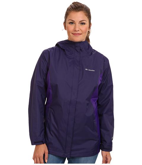 Columbia Plus Size Arcadia II Jacket (Inkling/Hyper Purple) Women's Coat
