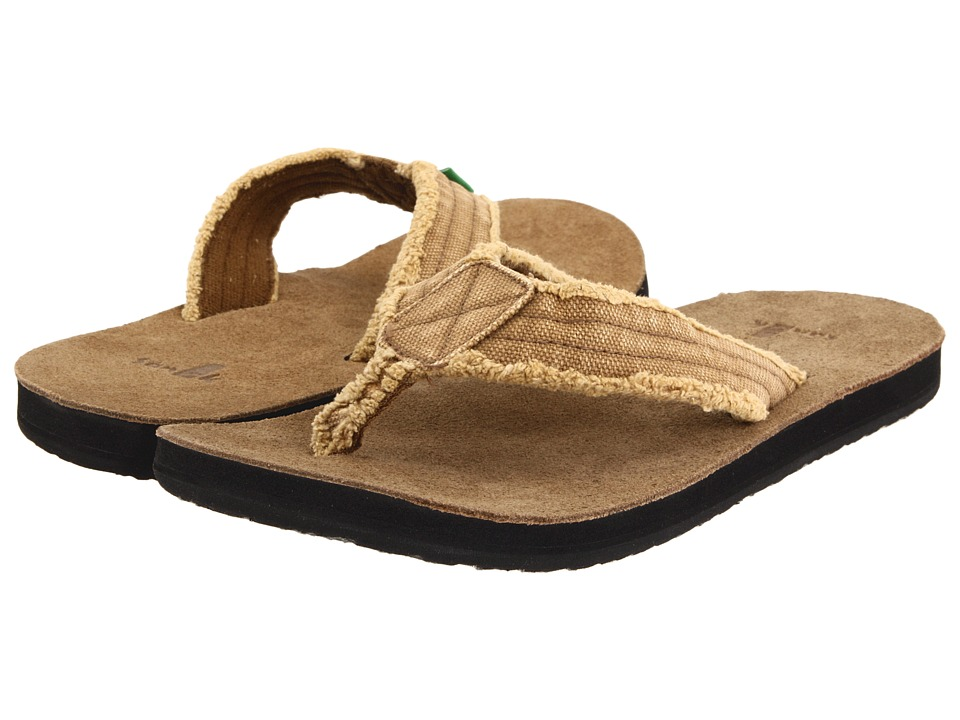 Sanuk Fraid Not Khaki Mens Sandals