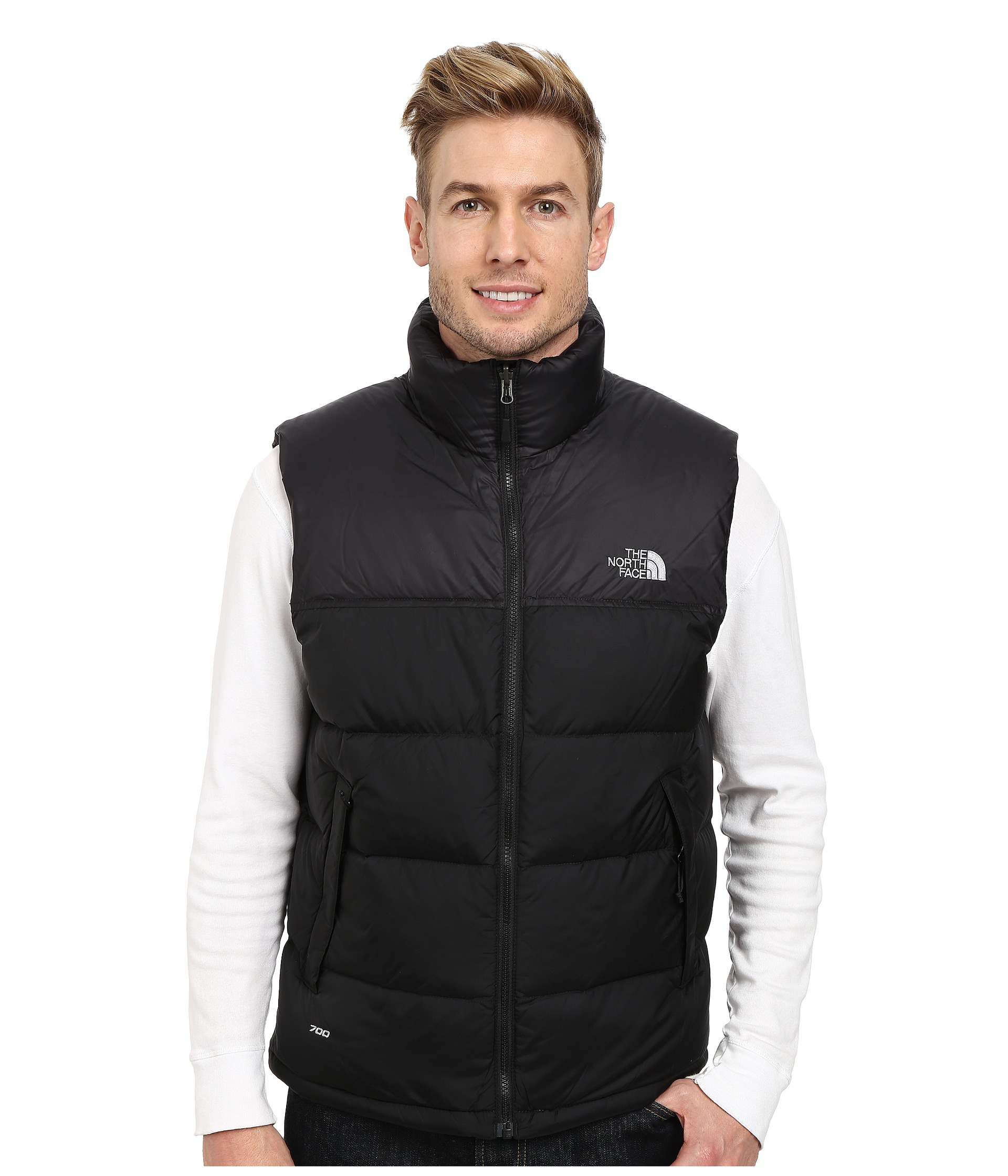 the north face nuptse vest at. Black Bedroom Furniture Sets. Home Design Ideas